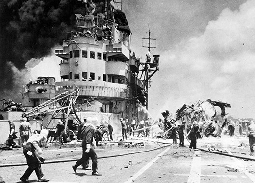 The reluctant kamikaze of the Second World War