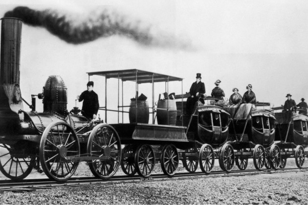 how did transport change in the industrial revolution