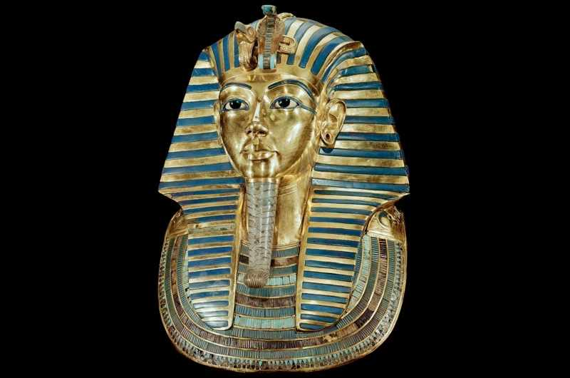 Tutankhamun's golden funeral mask. (Leemage/Corbis via Getty Images)