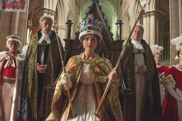 Jenna Coleman as Victoria. (Image by ITV Pictures)
