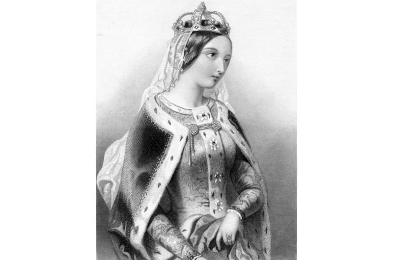 Catherine of Valois, widow of Henry V. (Photo by Print Collector/Print Collector/Getty)