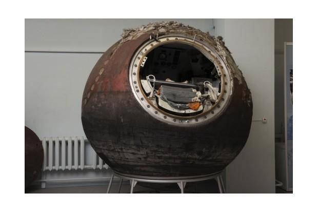 Valentina Tereshkova's Vostok-6 descent module, 1963