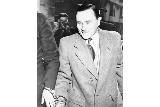 John Haigh, the 'acid bath murderer', in custody. (Bettmann/Getty)