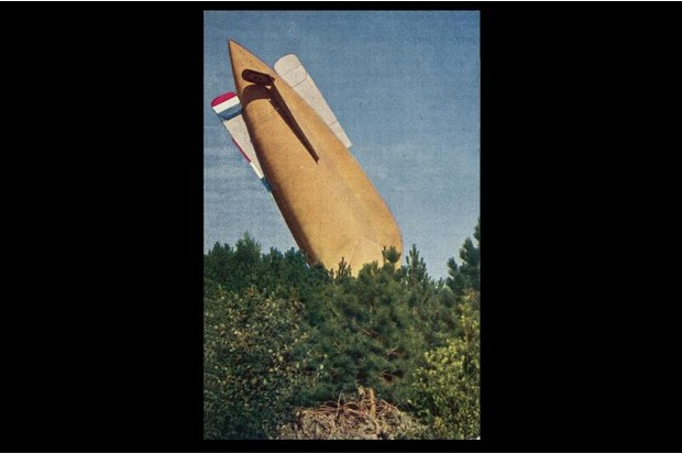 A World War One zeppelin