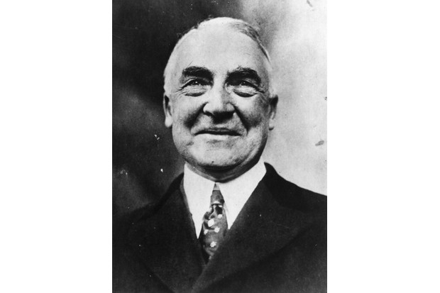 Warren G Harding.