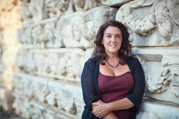 Historian and broadcaster Bettany Hughes. (Channel 5)