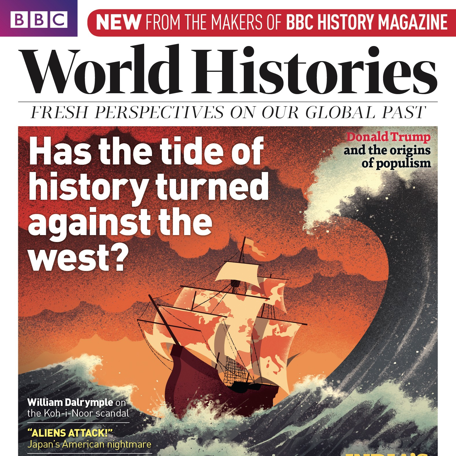 Cover of BBC World Histories Magazine