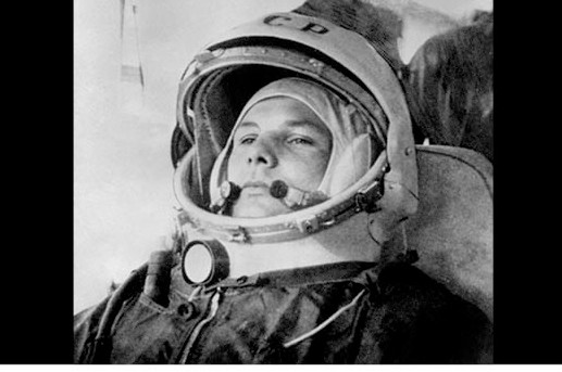 Soviet cosmonaut Yuri Gagarin. (Photo by Getty Images)