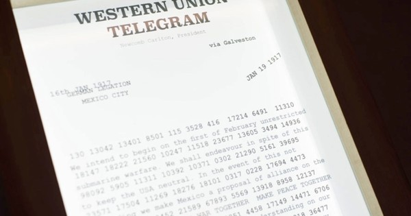 What Was The Zimmermann Telegram History Extra