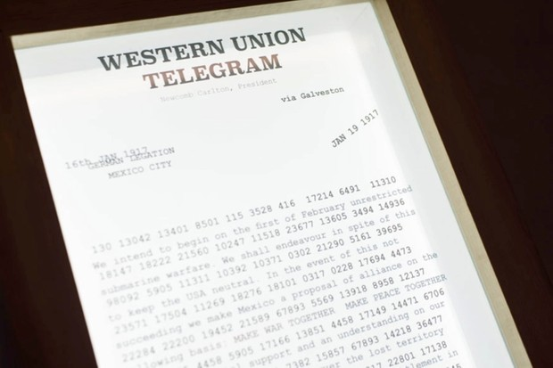 An example of the Zimmermann Telegram