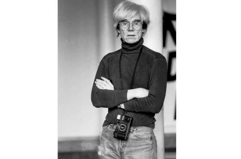 American artist Andy Warhol (1928 - 1987) in London in 1984. (AGIP/RDA/Getty Images)