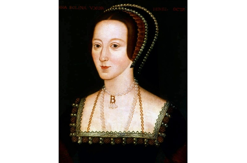 A portrait of Anne Boleyn. (Photo by DeAgostini/Getty Images)