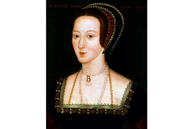 A portrait of Anne Boleyn. (Photo by DeAgostini/Getty Images)