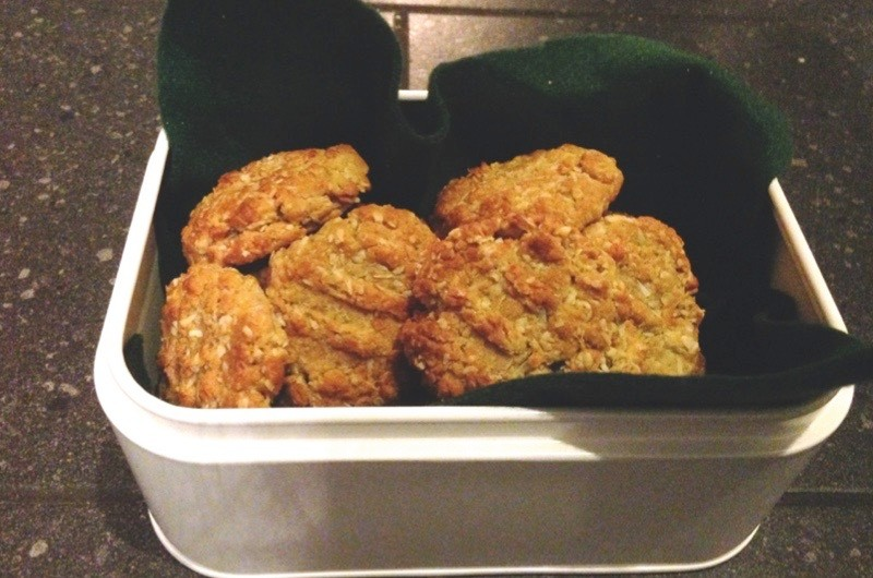These nutritious and long-lasting Anzac biscuits are often associated with the Australian and New Zealand Army Corps. (Credit: Sam Nott)