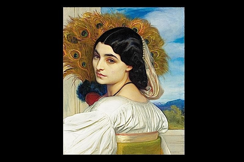 A painting from a new exhibition at the V&A Museum in London. 'The Cult of Beauty' explores the 19th-century artistic movement of Aestheticism.