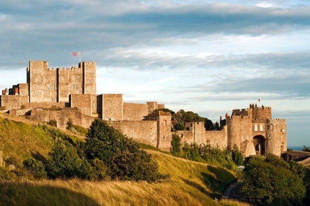 Dover Castle, Kent. (Photo by Olaf Protze/LightRocket via Getty Images)