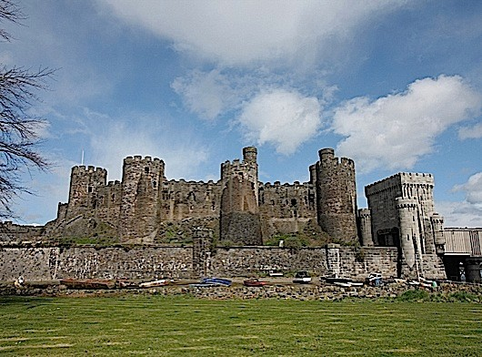 Conwy Castle Conwy History Extra