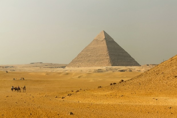 Great Pyramid of Giza. Egypt. (Photo by Olgakostenko | Dreamstime.com)