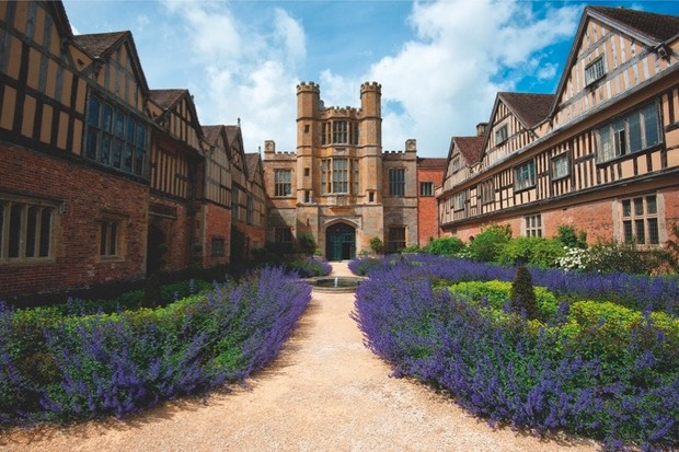 Coughton Court, an English country house