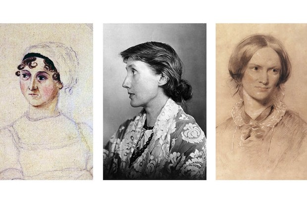 Literary women through the ages: Jane Austen, Virginia Woolf and Charlotte Brontë all enjoyed female friendships which enriched their writing, say Emily Midorikawa and Emma Claire Sweeney. (Getty Images)
