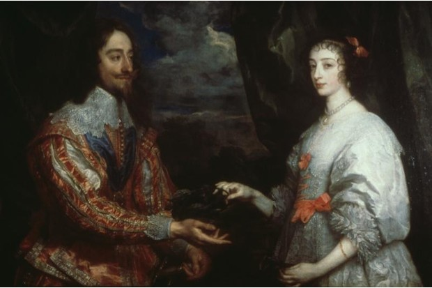 A picture from the art collection of Charles I.
