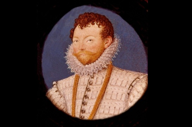 English navigator and privateer, Francis Drake. Miniature from the studio of Nicholas Hilliard, c1591. (Photo by Universal History Archive/Getty Images)