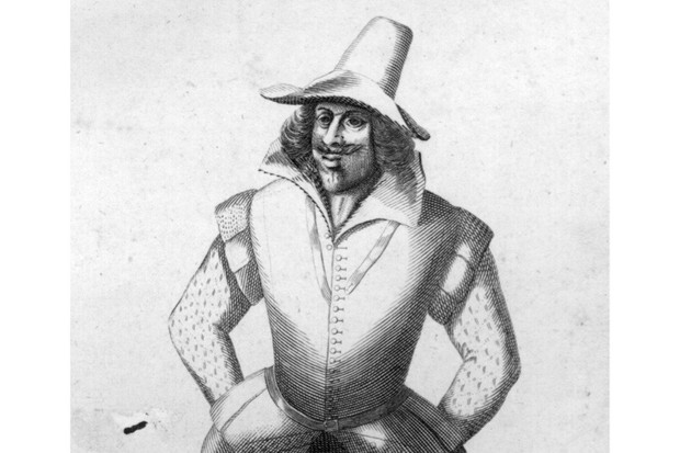 Guy Fawkes was a conspirator in the gunpowder plot to destroy the Houses of Parliament, c1606. (Photo by Hulton Archive/Getty Images)