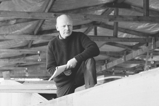 Herbert Hasler, one of the Cockelshell heroes, seen here at work on his sloop at the Don Fuller boatyard, Bosham, Sussex. 1st March 1966. (Image by Getty)