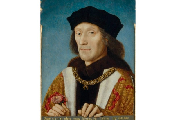 A portrait of Henry VII in 1505. His claim to the throne was tenuous and he had to see off a posse of pretenders, yet he proved a canny and competent ruler, modernising the justice system and filling the crown's coffers. (Photo by Universal History Archive/UIG via Getty Images)