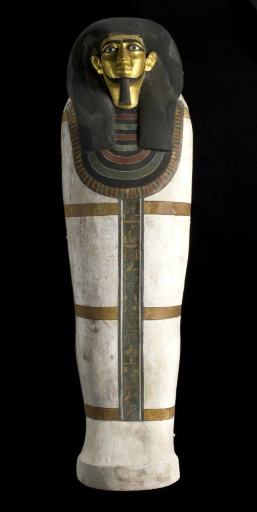 od anthropoid coffin of the estate overseer Khnumhotep