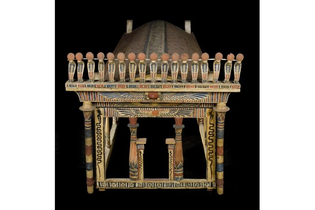Wooden funerary canopy of Montsuef from Thebes