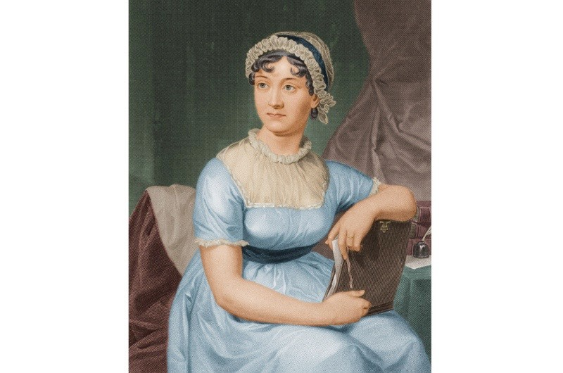 A portrait of Jane Austen. (Photo by Stock Montage/Stock Montage/Getty Images)