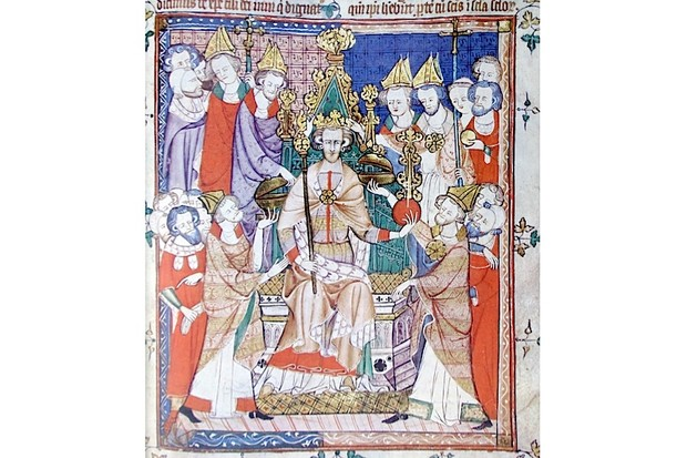 Coronation of King Edward III. (Ann Ronan Pictures/Print Collector/Getty Images)