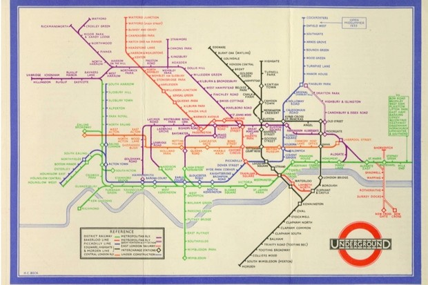 london underground map 4349c35
