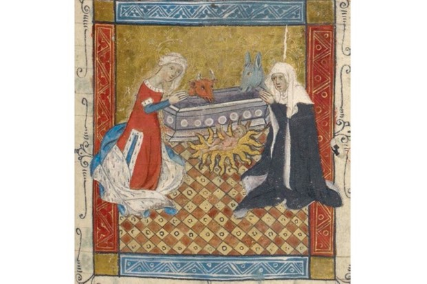 In pictures: Medieval women