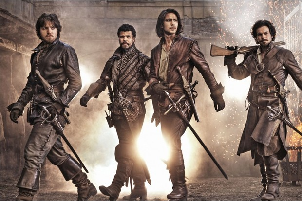 Behind the scenes of the BBC's swashbuckling new series The Musketeers