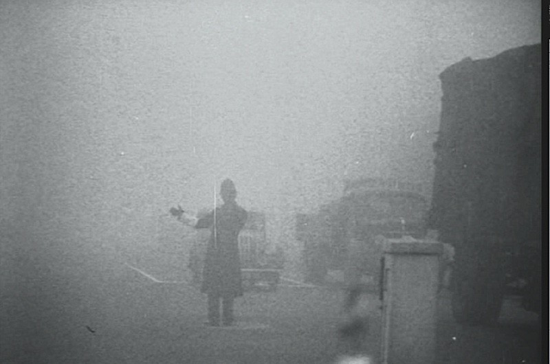 The British Pathe film documents the terrible smog, caused by the burning of coal, that smothered London for five days in December 1952. To watch the film, of to www.britishpathe.com/video/the-smog-menace/query/smog