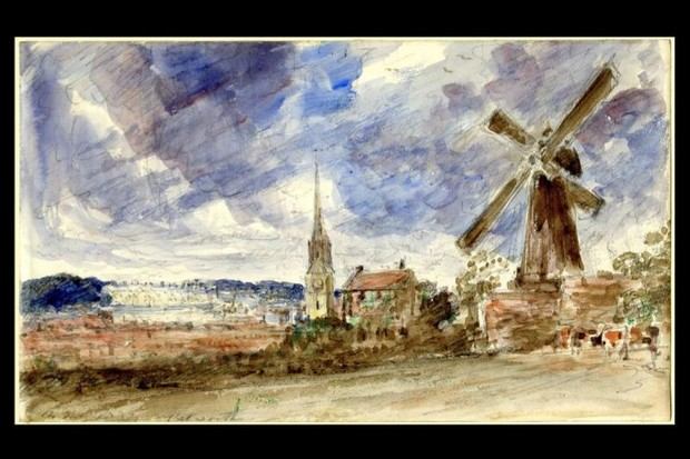 A painting by John Constable