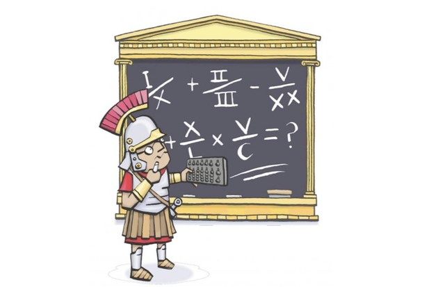 q a how did the romans write fractions history extra
