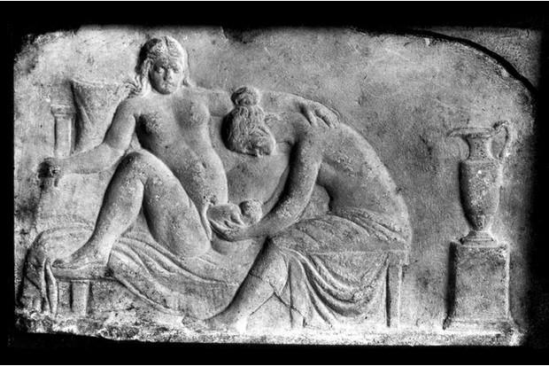 Sex slave birthing #10