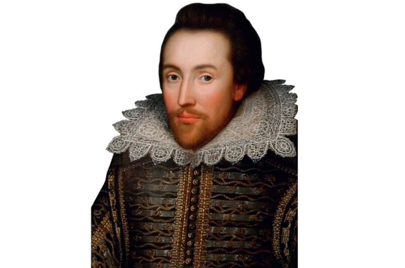 """The Cobbe portrait, which dates from c1610. This image's """"provenance and claim to be painted from life makes a compelling case"""" for it being an accurate likeness of William Shakespeare, says Paul Edmondson. (Getty Images)"""