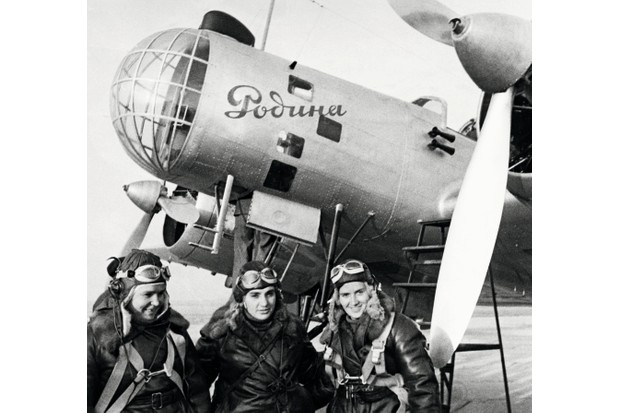 Mandatory Credit: Photo by Sovfoto/Universal Images Gro/REX/Shutterstock (3827416a) Order-bearers captain polina osipenko (co-pilot and commander of the plane), deputy to the supreme soviet of the USSR Valentina grizodubova (navigator), and senior lieutenant marina raskova right before their historic flight, they set a world record for non-stop direct flight by women when they flew a tupolev db2/ant37 aircraft named rodina 6,000 kilometres (3,700 miles) from Moscow to komsomolsk-on-amur, on the south-eastern tip of siberia, September 24, 1938. VARIOUS