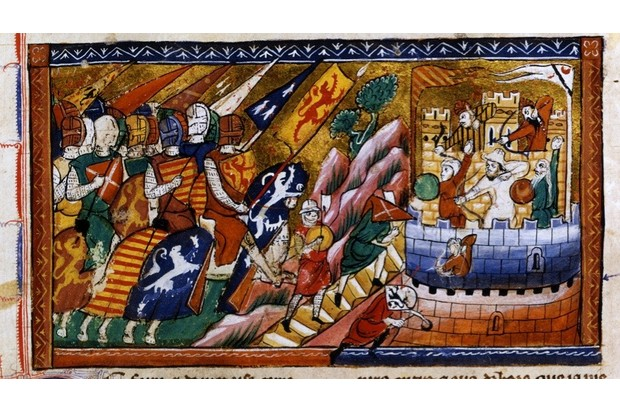 A4JY7H Siege of Antioch c1097 14th century