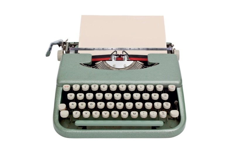 A typewriter. (Photo by Dreamstime)