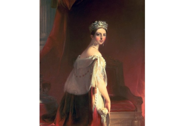 Thomas Sully's portrait of Queen Victoria