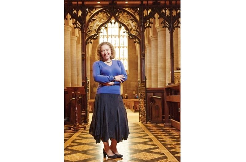 Portrait of Sarah Gristwood for BBC History Magazine