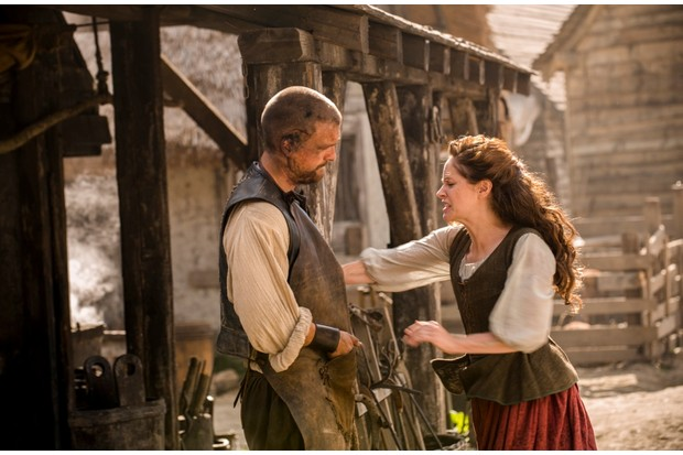 Still from the first series of Jamestown