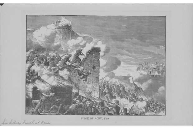 Engraving depicting the Siege of Acre, an unsuccessful French siege of the Ottoman-defended, walled city of Acre during Napoleons invasion of Egypt, 1799. (Photo by Archive Photos/Getty Images)