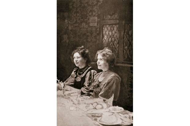 Christabel Pankhurst and Annie Kenney