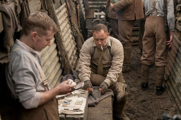 Scene from new First World War film Journey's End